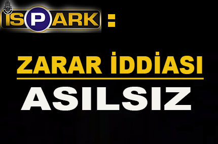 �SPARK: Zarar iddias� as�ls�z�